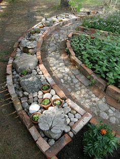 Varjoyrtin puutarha: Yrttimaa