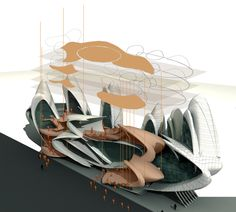 Gallery of Insect-Wing-Inspired Design Wins Moscow Circus School Competition - 4