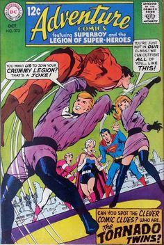 Adventure Comics #373 by Neal Adams