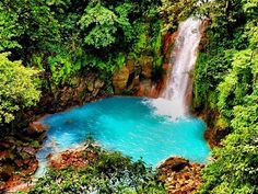 Is the Rio Celeste in Costa Rica the bluest river in the world? The vibrant blue color occurs at the confluence of two smaller rivers, Sour Creek and Good View River, a spot that has earned the name El Teñidor ('The Dyer'). The color is caused by Mie scattering, according to Amusing Planet, a phenomenon caused by the presence of large particles of a mineral called aluminosilicate in the river's water, which reflect sunlight, giving rise to the vibrant blue hue.
