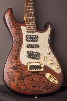 Dean Zelinsky Private Label Guitars Tagliare Private Label Guitars are hand-painted with a stunning satin finish, and laser engraved with YOUR NAME etched right into the gorgeous Flame Maple Top!