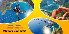 Fethiye'de yamaç paraşütü yapmak isteyenlerin adresi.