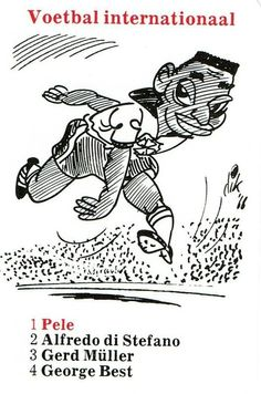 1 Internationaal Pelé Cartoons, Playing Cards, 1, Sports, Animals, Tobacco Shop, Legends, Caricatures, Football Soccer