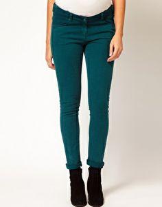 Enlarge ASOS Maternity Skinny Jean in Teal