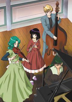 Tags: Anime, Violin, Piano, Music, Bishoujo Senshi Sailor Moon, Flute, Tenou Haruka