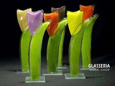 Blumenglas+-+TULIP+von+GLASSERIA+auf+DaWanda.com