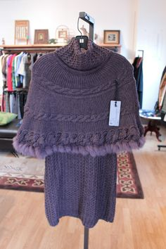 Follement Knit Cape Dress - sold after 2 hours on the floor!