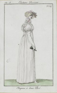1804-05 An 13 Costume Parisien No  654 SceneInThePast
