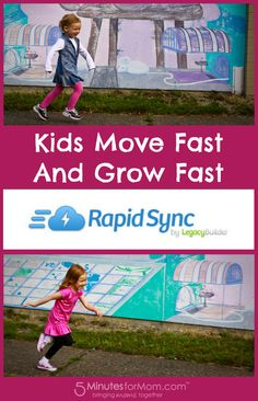 Kids Move Fast and Grow Fast so does LegacyBuilder Rapid Sync