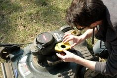 An annual tuneup should keep your lawn mower in top shape and prevent expensive repairs. (Photo by Katie Jacewicz)
