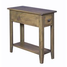 27 H X 12 W D Wingback Side Table 219 00 Pine Furniturecottage