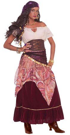 Image detail for -Madame Mystique Gypsy Costume | Renaissance | HalloweenMart