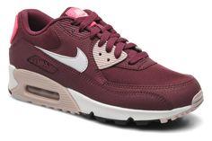 Nike Wmns Air Max 90 Essential (Violet) - Baskets chez Sarenza (215870)