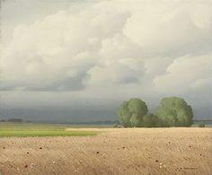 法国画家 Pierre de Clausade 笔下的辽阔风光