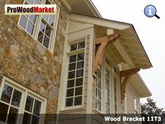 Wood-Bracket-11T10 | Wood brackets, Front entry and Woods