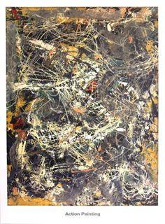 Untitled (1949) Print by Jackson Pollock at Art.com