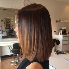 """65 Likes, 3 Comments - Amarra Hair (@amarrahair) on Instagram: """"Seamless balayage and shoulder length bob, hair by Shayla @amarrahair #camphill #camphillsalon…"""""""