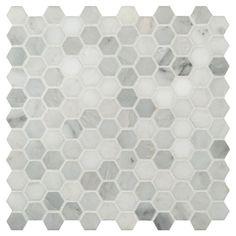 Honed Marble Mosaic Tile