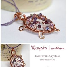 ( Make this in copper and bead soup green base- use up randomness chips)