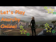 Let's Play Anarchy Online AKA New Player Area & Graphics - YouTube