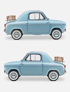 vespa micro car