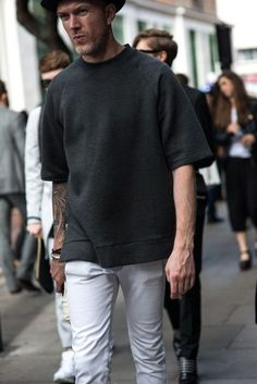 See the strongest summer looks from the men on the street at LCM