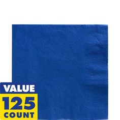 Royal Blue Lunch Napkins 125ct
