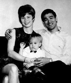 Linda, Bruce Lee, Brandon  by rising70, via Flickr