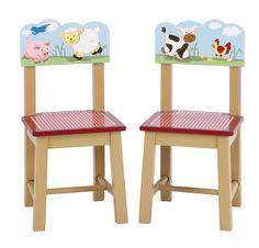 Guidercraft Farm Friends Stuhl für Kinderzimmer kaufen