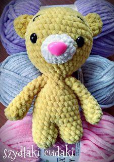 Szydłaki Cudaki - Amigurumi - Handmade with love: Szydełkowy miś - amigurumi bear