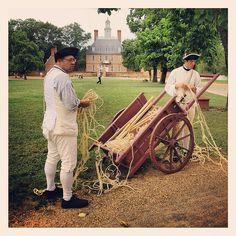 Soldiers Townsfolk Colonial Williamsburg Virginia History IMG_9515