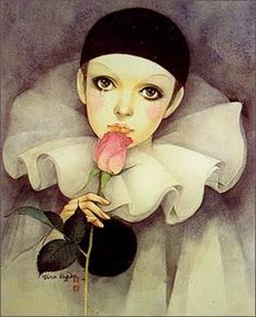 Pierrot - seem to remember one of my friends had a poster of this in her room
