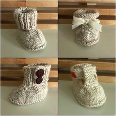 Ravelry: Seamless Baby Booties pattern by Liesbeth Braam