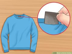 3 Ways to Shrink Clothes - wikiHow