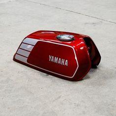 tank yamaha xs 400 modifiziert f r xv 500 cafe racer. Black Bedroom Furniture Sets. Home Design Ideas
