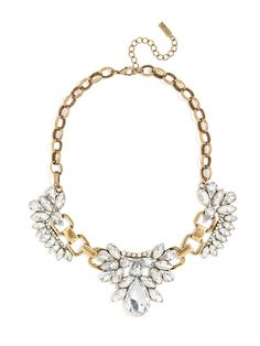 we love the new clear option of our mademoiselle necklace
