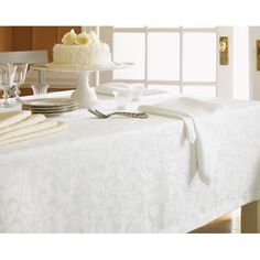 Sferra - Orchard Easy Care Table Linens | Gracious Style | 70x144   $170