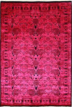 Rugs USA Overdye Essence Hot Pink Rug