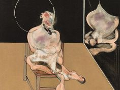 Francis Bacon, 'Seated Figure', 1983. Aquatint in colors after a painting on wove paper. Signed 'Francis Bacon' and numbered 'XII/XCIX' in pencil.