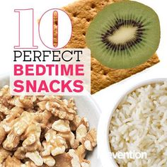 10 Perfect Bedtime Snacks - Some nights you just need a little something. Whether your stomach is growling so loudly that you know you won't be able to sleep, or dinner just didn't do it, a snack will not only satisfy you, but can also promote better slumber. To avoid turning this nosh into a fourth meal, cap snacks at 150 to 200 calories, advises registered dietitian Mary Hartley, MPH. Here are 10 ideas to try—eat 'em and sleep.