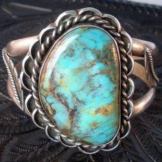 Vintage Navajo Turquoise Bracelet