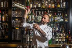 One Marine's Rise at a Legendary New York Bar: Steve Schneider, the bartending overlord at Employees Only, is keeping the celebrated bar on track, one ice-smashing hammer at a time.