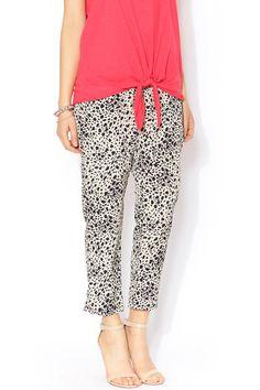 Animal Print Pants $32 @shoptiques