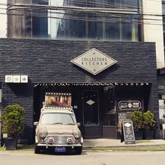 #collecterskitchen In Cheong-Dam #kitchen #interior #interiordesign #design #vintageinterior #vintage #exterior #exteriordesign #minicooper #미니쿠퍼 #인테리어 #디자인 #청담동맛집 #청담동 #청담맛집 #브런치 #cafedesign #빈티지 #빈티지인테리어