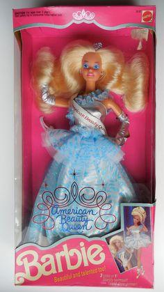 Vintage Barbie American Beauty Queen 1991 Had her!!!