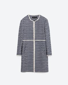 Image 8 of PRINTED COAT from Zara