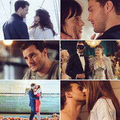 Fifty Shades Darker Movie, Fifty Shades Trilogy, 50 Shades, Dakota Johnson, Christian, Couple Photos, Movies, Movie Posters, Couple Shots