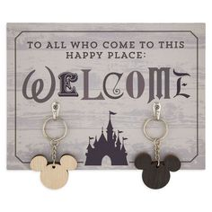 Decorate your home sweet Disney home. Find Disney-inspired decorations and home accents at Disney Store. Disney Cruise, Disney Parks, Disney Sign, Disney Stuff, Disney Disney, Disney Magic, Tinkerbell Disney, Disney College, Disney Nerd