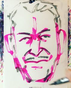 "torao fujimoto on Instagram: ""#miyakeissey #三宅一生 #fashiondesigner #ファッションデザイナー #isseymiyake #イッセイミヤケ #19380422 #birthday #誕生日 #1minut #1分 #1mindraw  #一分描画 #portrait #似顔絵…"" Instagram"