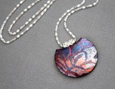 IMG_0763 | Pendant necklace in polymer clay | Susy | Flickr